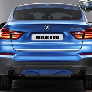 Listwa chrom do BMW X4 F26 SUV z 2014