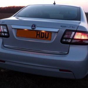 Chrome trim for the trunk lid - SAAB Sedan
