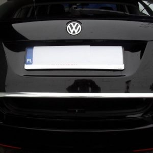 Chrome trim for the luggage compartment lid - VW Golf V