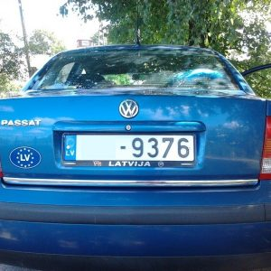 Listwa chrom na klapę bagażnika do VW Passat B5 Sedan