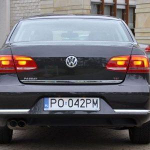 Listwa chromowana do VW Passat B7 Sedan na klapę bagażnika