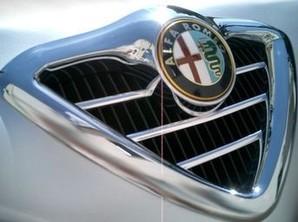 Listwy chromowane na przedni grill do Alfa Romeo 166