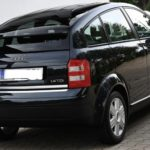 Audi A2 – chrome plated strip for the trunk