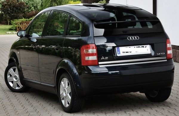 Audi A2 - chrome plated strip for the trunk
