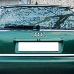 Listwa chromowana - Audi A3 8L - ochronna na bagażnik