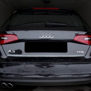Listwa chrom do Audi A3 8V 2012 ochronna na bagażnik
