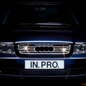 Chromium-plated grill for AUDI A4 B5 Sedan or Estate