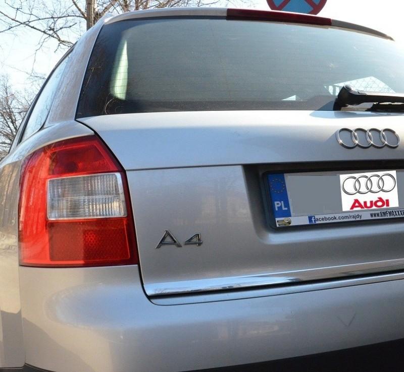 Audi A4 B6 Estate Avant 00 04 Strip Chromium Plated 3m Protective On