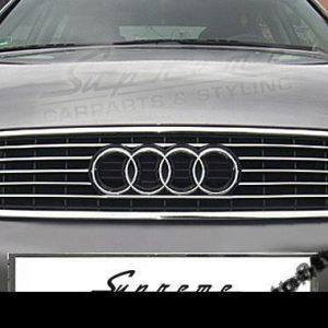 Listwy chrom na przedni grill do Audi A4 B6 Sedan lub Kombi