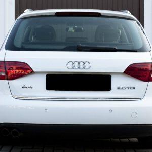 Listwa ochronna chromowana na bagażnik do Audi A4 B8 Avant Kombi