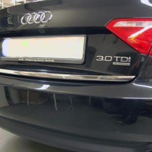 Listwa chromowana na tylną klapę bagażnika do Audi A5 Coupe Sportback