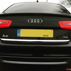 Listwa chrom na bagażnik do Audi A6 C7 Saloon