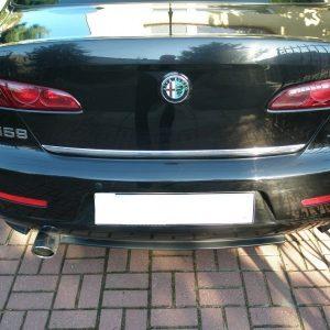 Listwa chromowana na klapę bagażnika do Alfa Romeo 159 Sedan