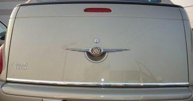 Listwa chrom na Chrysler PT Crusier Cabriolet