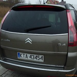 Listwa chrom do Citroen C4 grand Picasso I