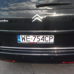 Listwa chrom do Citroena - klapa bagażnika