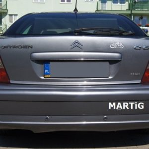 Listwa chrom do Citroena C5 I Sedan