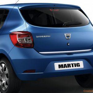 Dacia Sandero - listwa chrom do tylnych drzwi
