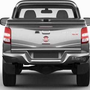 Listwa chromowana do Fiat Fullback na klapę bagażnika