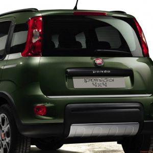 Listwa chromowana na klapę bagażnika do Fiat Panda