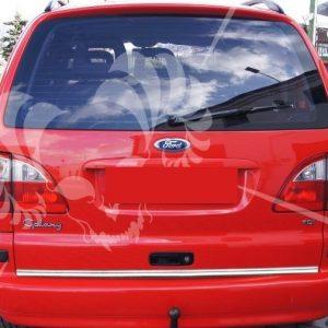 Listwa chrom na dolną krawędź bagażnika do Ford Galaxy II