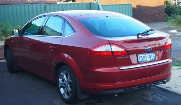 Ford Mondeo MK4 HB – Chrome plated trunking – Chrome-Auto