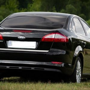 Listwa chromowana Ford Mondeo Mk4 Sedan klapa bagażnika