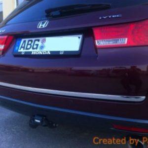 Listwa chromowana Honda Accord VIII Kombi na klapę bagażnika