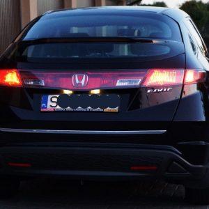 Listwa chrom na Honda Civic VIII 2006-2012 na klapę bagażnika