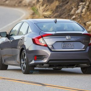 Listwa chrom do Honda Civic X Sedan