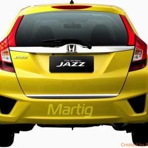 Listwa chromowana do Honda JAZZ IV na klapę bagażnika