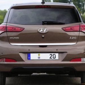 Listwa chrom na klapę bagażnika do Hyundai i20 II GB