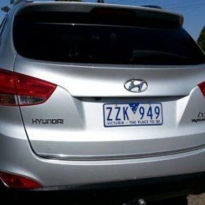 Listwa chrom Hyundai ix35 do klapy bagażnika