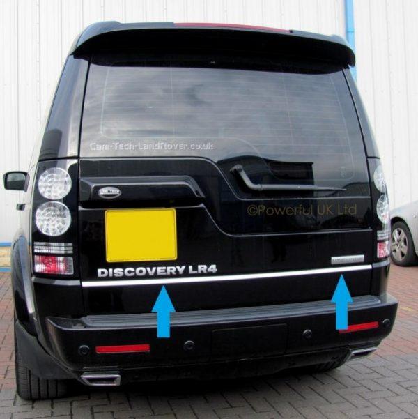 Listwa chrom na klapę bagażnika do Land Rover Discovery III