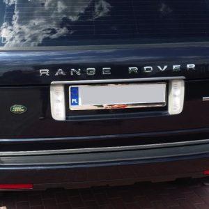 Profesjonalna listwa chrom na krawędź klapy Land Rover Range Rover III
