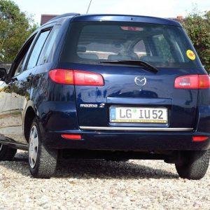 Listwa chrom w kolorze chromowanym do Mazda 2 I DY Hatchback
