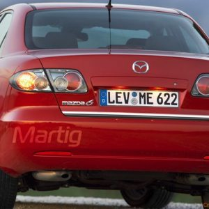 Nowa listwa chrom na klape bagażnika do Mazda 6 I