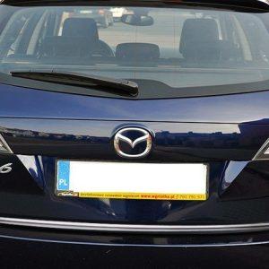 Listwa chrom na klapę bagażnika Mazda 6 II Kombi