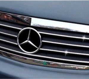Listwy chrom na przedni grill do Mercedes-Benz A Klasa W168