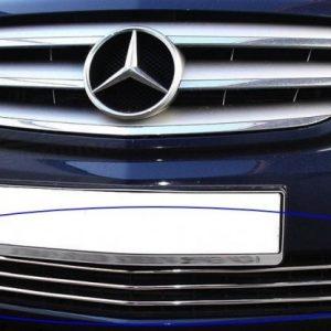 Listwy chrom na przedni grill do Mercedes-Benz B Klasa W245