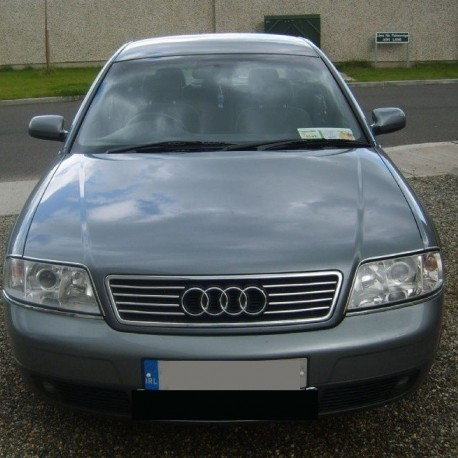Audi A6 C5 Sedan Kombi Chromed Slats Grill Chrome Auto