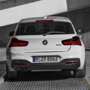 BMW 1 listwa chromowana