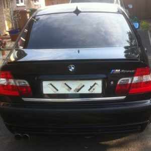 BMW 3er E46 Sedan/Hatchback listwa chromowana