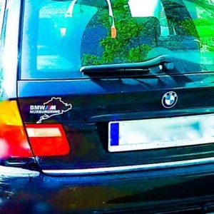 BMW 3er E46 Touring Kombi listwa chromowana