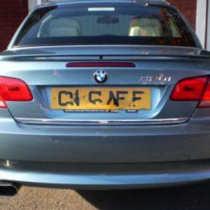 BMW 3er E92 E93 Coupe Cabriolet listwa chromowana