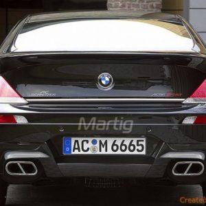 BMW 6 E63 Coupe, E64 Cabriolet listwa chromowana
