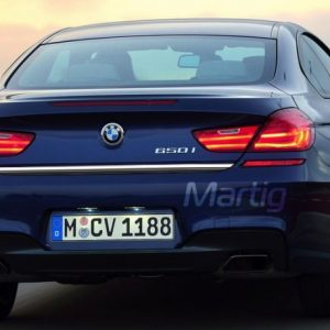 BMW 6 F13 Coupe, F12 Cabriolet listwa chromowana