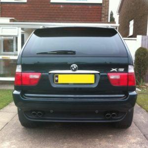 BMW X5 E53 SUV listwa chromowana