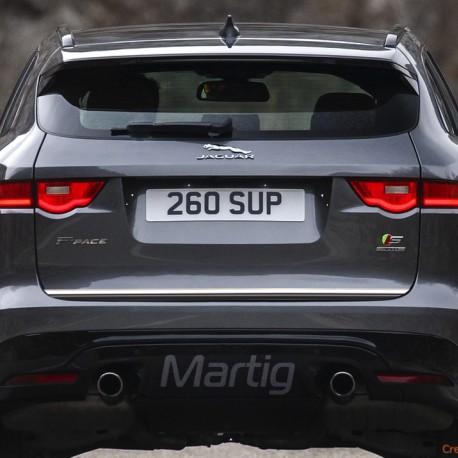 Jaguar F-PACE SUV listwa chromowana