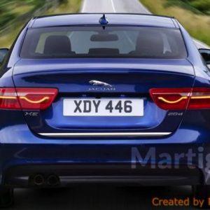 Jaguar XE listwa chromowana